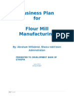 Abrham Flour Mill Project b.plan