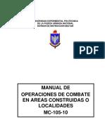 Manual de Combate en Áreas Construidas.
