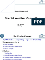 CE 308 Lec 13 Special Weather Concreting
