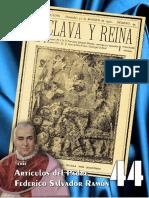 Textos del Padre Federico Salvador Ramón – 44