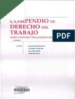 Albiol M., Ignacio_ Camps R, Luis- Compendio de Derecho Del Trabajo Español - Tomo I - Contrato