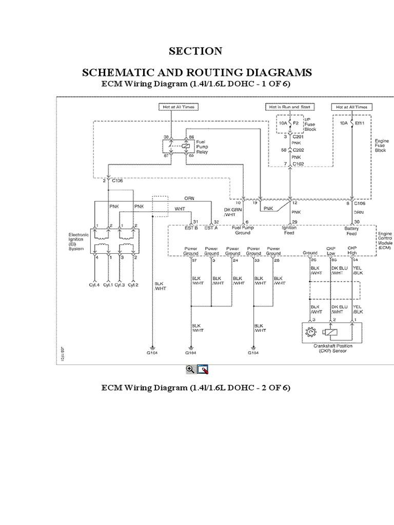 Engine Ecm Daewoo Optra Nubbira Lacetti Docx