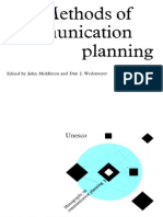 Methods of Comm Planning Middleton