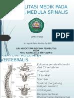 rehabilitasi medis pada cidera medula spinalis