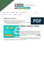 Dilma Nunca Mais ! - InvestsNEWS.pdf
