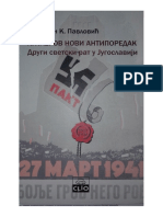 Stevan Pavlovic, Hitlerov Novi Antiporedak