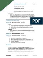 Release Notes GLD Editor V1.51 2