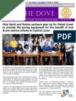 RC Holy Spirit the DOVE Vol. IX No. 13 November 8, 2016