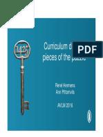 Curriculum Design Def