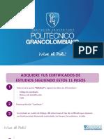 2 Certificados de Estudios