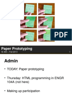 6 Paper Prototyping