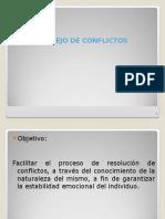 Manejo de Conflictos - E