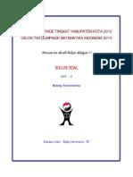 Solusi Olimpiade Matematika Tk Kota 2012 Tipe 3.pdf