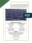 EIA-Solar Power Study Report