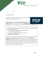 Carta de Amonestacion( Faltas Graves) Carlos Alday (11-11)