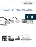 Phased Array Probes and Wedges