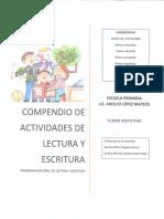 Compendio de Actividades Para El PNLE