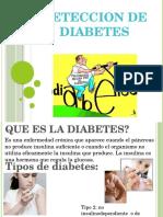 Deteccion Diabetes