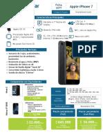 Ficha SSTT - Apple iPhone 7