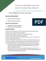 Cil Wl_2016 Rules