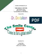 Dental bussiness plan