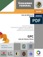 GRR NutricionParenteralComplicaciones