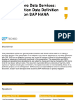 2015 ASUG DEV200–SAPHanaCoreDataServices