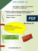 Técnicas JIT