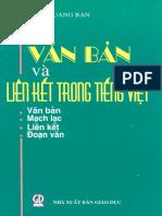 Van Ban Va Lien Ket Trong Tieng Viet - Diep Quang Ban