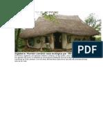 Casa Ecologica Construida Por 180 Euros