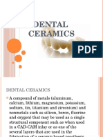 DENTAL Ceramics Ppt