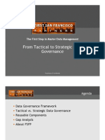 Tactical vs Strategic Data Governance