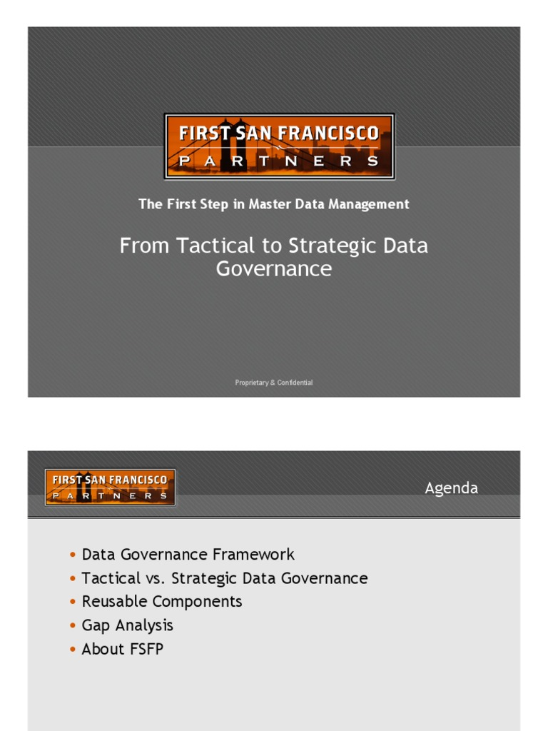 Tactical vs Strategic Data Governance | Governance