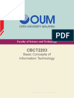 CBCT2203- CBCT2203 (Basic Concepts of Information Technology)