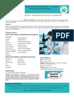 Publicación, Curso Taller Analisis Alimentos