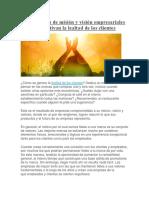 12 Ejemplos de Misión y Visión Empresariales Que Motivan La Lealtad de Los Clientes