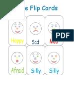 Face Flip Cards