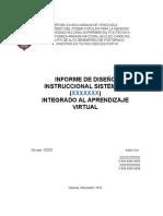 Modelo de Informe DI de Curso en Linea