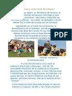 Tradiciones y Costumbres de Cotopaxi