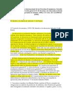 Aplicación del Pacto Internacional de los Derechos Económicos