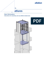 Acrow Shaft Platform User Guide 2015