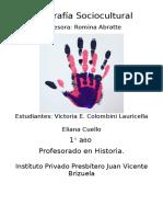 Propuesta Geografía Sociocultural