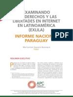 EXLILA_informe Nacional Paraguay