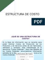 Estructura de Costo