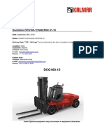 16 Ton Forklift Offer-Kalmar