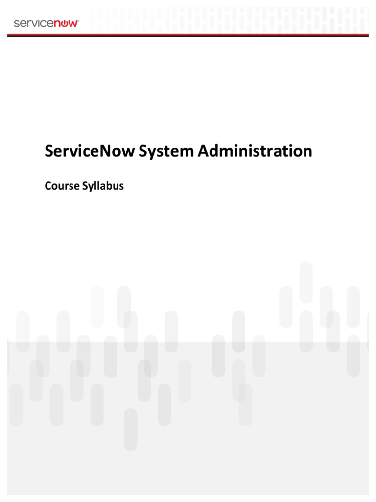 capstone project servicenow