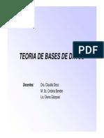 Introduccion bases de datos