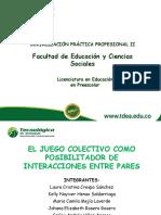 Diapositiva Proyecto Final Sociomotricidad