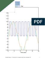 EXP1 Sampling Waveform