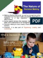 Decision making management slides